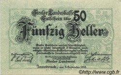 50 Heller AUTRICHE  1919 PS.141 pr.NEUF