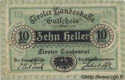 10 Heller AUTRICHE  1920 PS.142 SUP