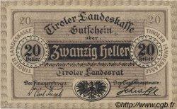 20 Heller AUTRICHE  1920 PS.143 pr.NEUF