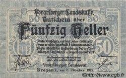 50 Heller AUTRICHE  1919 PS.147 NEUF