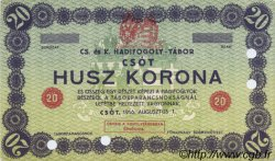 20 Korona AUTRICHE  1916 L.10g1 SUP