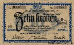 10 Kronen AUTRICHE  1916 L.37h1 SUP+