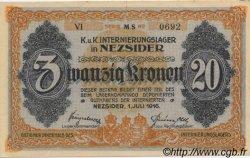 20 Kronen AUTRICHE  1916 L.38b NEUF