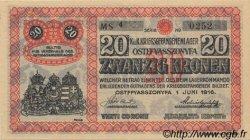 20 Kronen AUTRICHE  1916 L.41IIb SPL