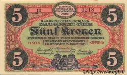 5 Kronen AUTRICHE  1916 L.53f pr.NEUF