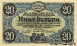 20 Kronen AUTRICHE  1916 L.53h SPL