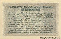 5 Kronen AUTRICHE  1918 -- SPL