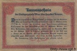 100 Kronen AUTRICHE  1918 -- TTB+