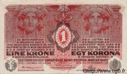 1 Korona HONGRIE  1916 P.010 SPL