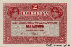 2 Korona HONGRIE  1917 P.011 SPL