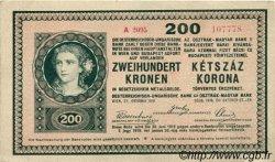 200 Korona HONGRIE  1918 P.015 SPL