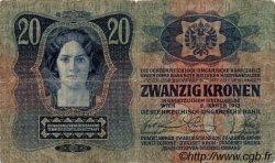 20 Korona HONGRIE  1920 P.020 B+