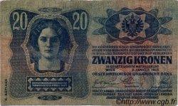20 Korona HONGRIE  1920 P.021 TB