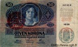 50 Korona HONGRIE  1920 P.025 TTB