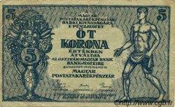 5 Korona HONGRIE  1919 P.034 TB