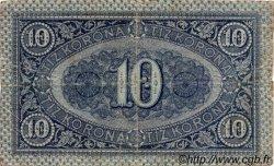 10 Korona HONGRIE  1919 P.037 TB+