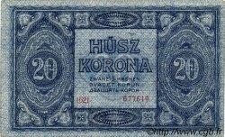 20 Korona HONGRIE  1919 P.038a SPL