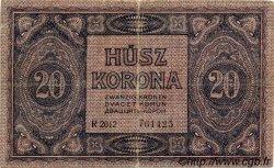 20 Korona HONGRIE  1919 P.042