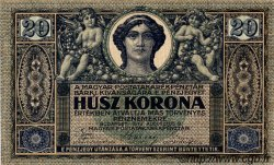20 Korona HONGRIE  1919 P.042 SUP