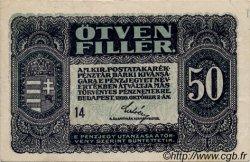 50 Filler HONGRIE  1920 P.044 TTB+