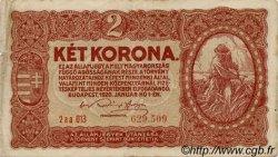 2 Korona HONGRIE  1920 P.058 pr.TTB