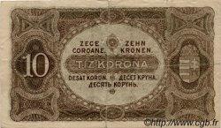 10 Korona HONGRIE  1920 P.060 TB
