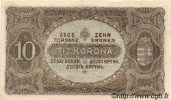 10 Korona HONGRIE  1920 P.060 SUP