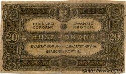 20 Korona HONGRIE  1920 P.061 B