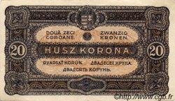20 Korona HONGRIE  1920 P.061 TTB