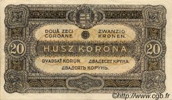 20 Korona HONGRIE  1920 P.061 SPL+