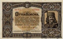 50 Korona HONGRIE  1920 P.062 pr.SUP