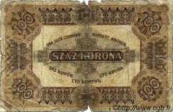 100 Korona HONGRIE  1920 P.063 AB