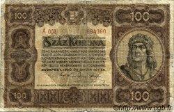 100 Korona HONGRIE  1920 P.063 TB