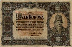 1000 Korona HONGRIE  1920 P.066a B