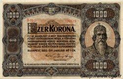 1000 Korona HONGRIE  1920 P.066a SUP