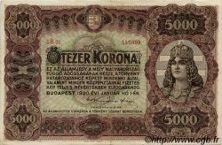 5000 Korona HONGRIE  1920 P.067 TTB+