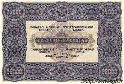 25000 Korona HONGRIE  1922 P.069s pr.NEUF