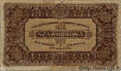 100 Korona HONGRIE  1923 P.073a B