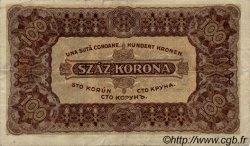 100 Korona HONGRIE  1923 P.073a TTB