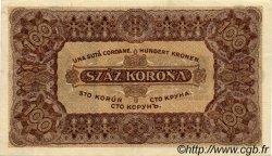 100 Korona HONGRIE  1923 P.073a SUP