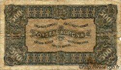 500 Korona HONGRIE  1923 P.074b AB