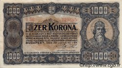 1000 Korona HONGRIE  1923 P.075a SUP+
