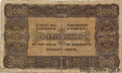 5000 Korona HONGRIE  1923 P.076a B
