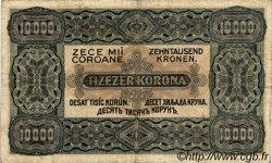 10000 Korona HONGRIE  1923 P.077a TB+