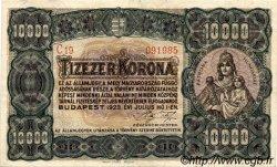 10000 Korona HONGRIE  1923 P.077c SUP