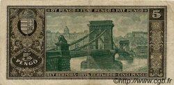 5 Pengö HONGRIE  1926 P.089a TTB