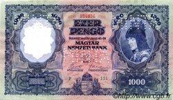 1000 Pengö HONGRIE  1927 P.094bs pr.NEUF