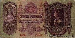 100 Pengö HONGRIE  1930 P.098 TB