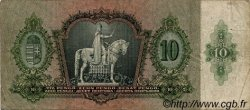 10 Pengö HONGRIE  1936 P.100 TB