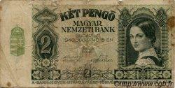 2 Pengö HONGRIE  1940 P.108 B+
